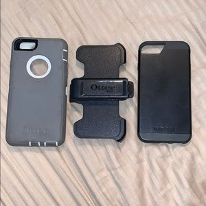 Bundle of 2 cases and clip for iPhone 5